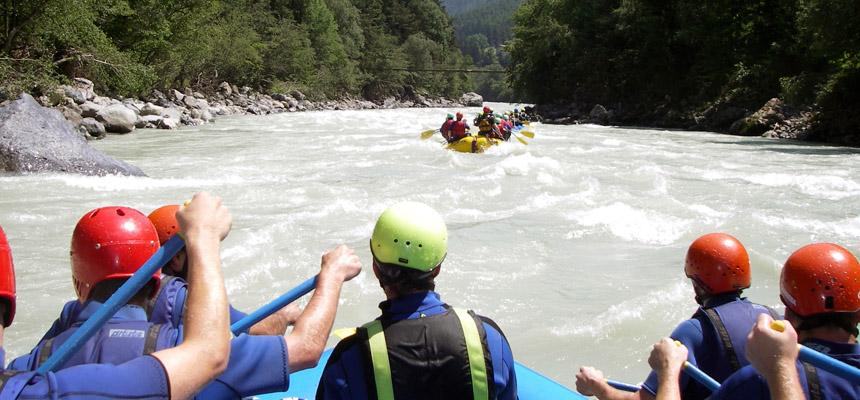 rafting in deutschland